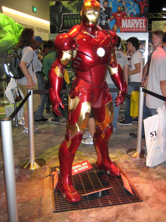 Iron Man at the Comic-Con