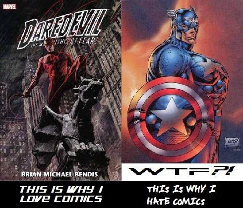 I love comics. I hate comics.