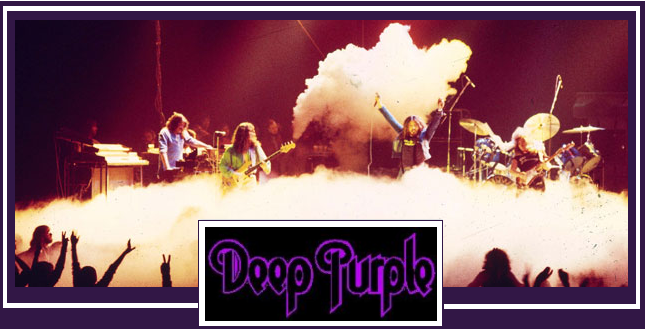 Deep Purple Rock Band