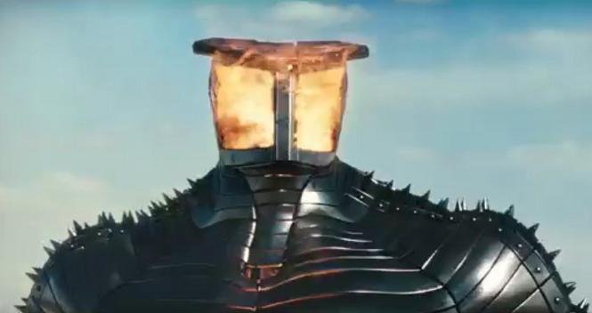 Thor Destroyer preparing to blast