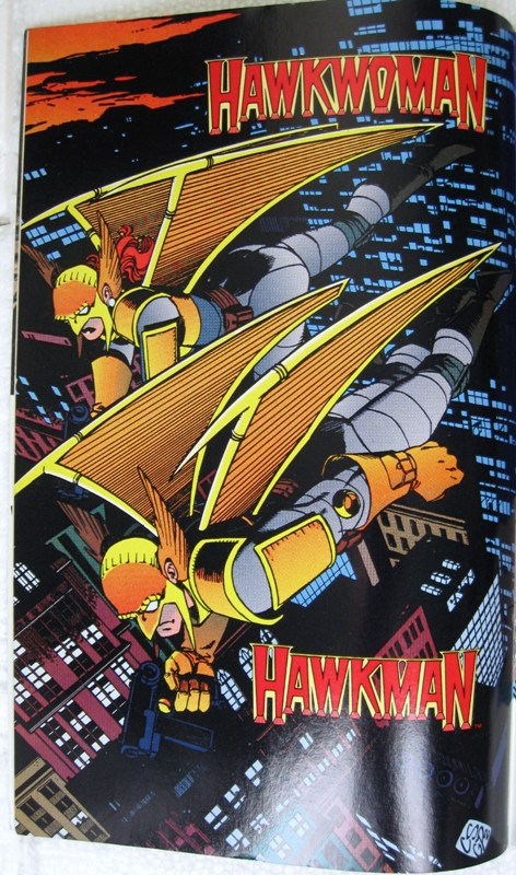 Hawkman & Hawkwoman