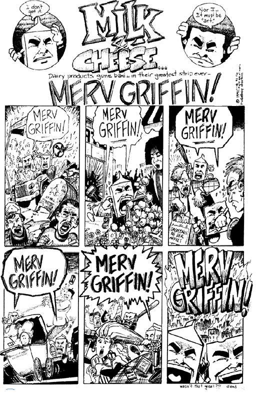 Milk & Cheese - Merv Griffin