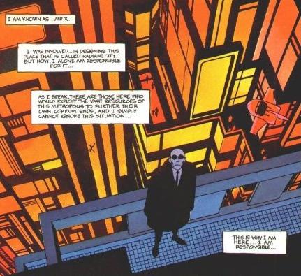 Mister X Vortex Comics