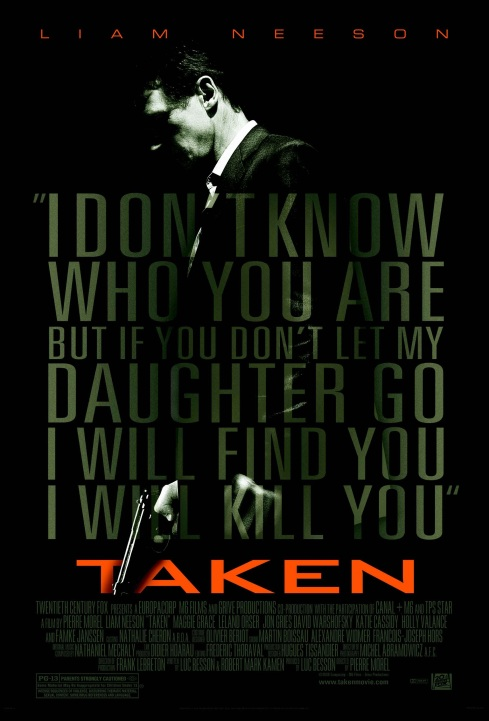 Taken (2008) Movie Poster