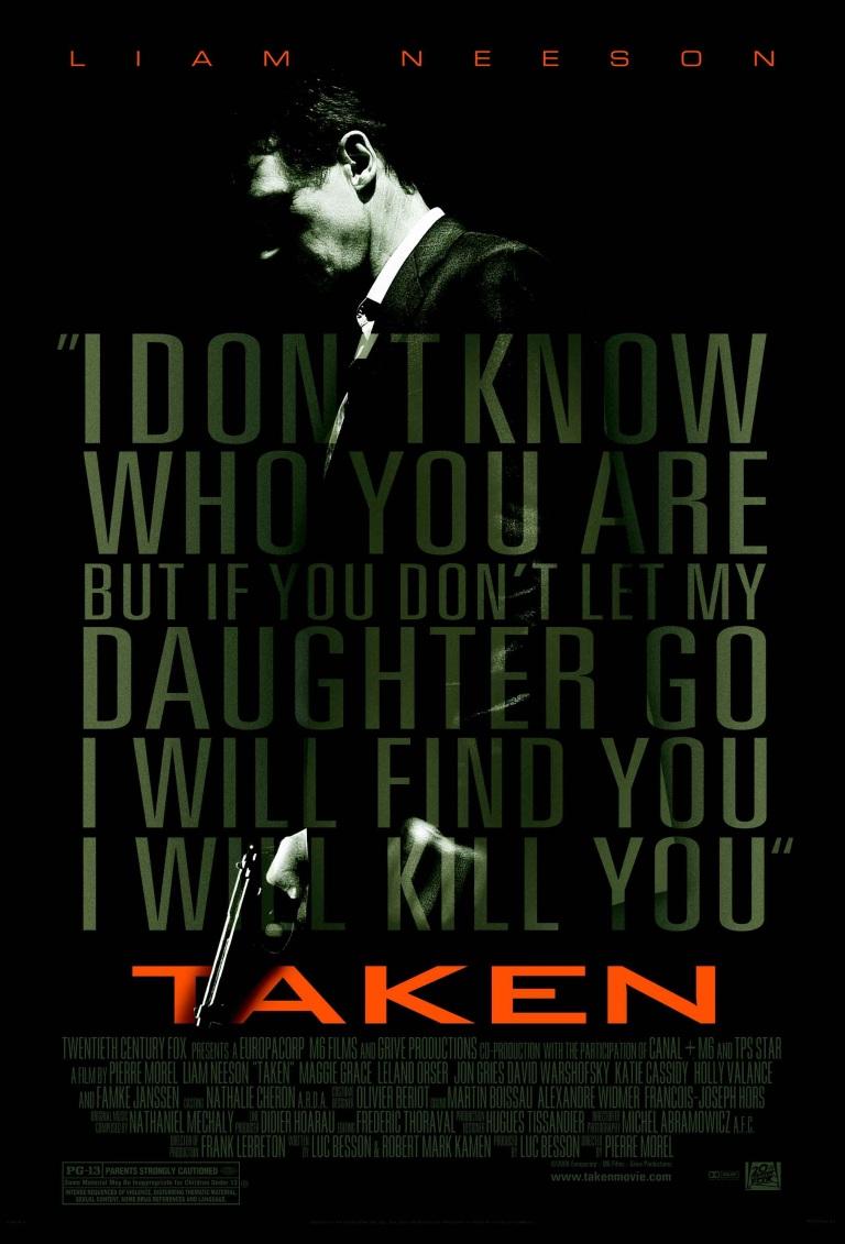 Taken (2008) Movie Poster