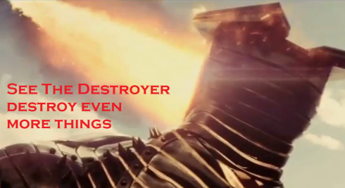 Pictures of the Destroyer Destroying Things