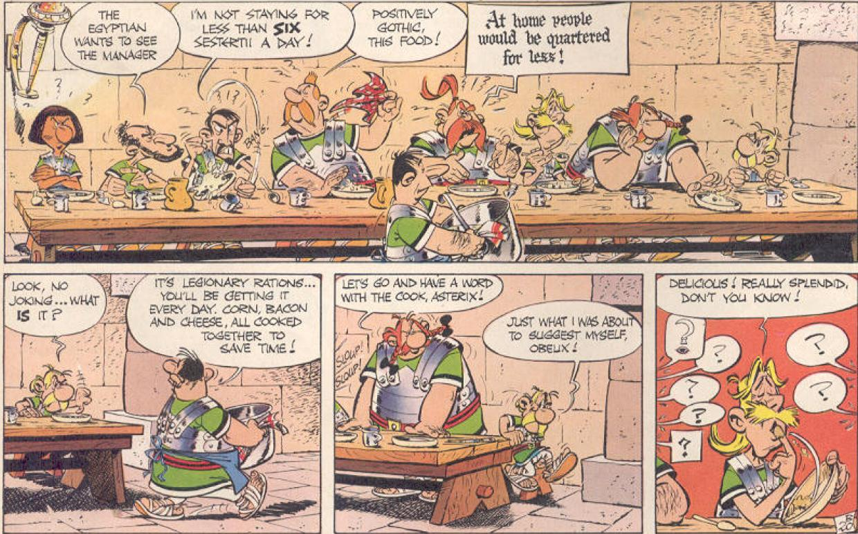 Image result for asterix in britain wot?
