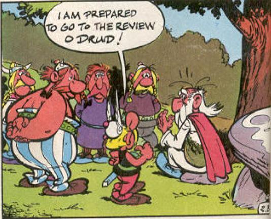Review and Rating for Asterix and the Golden Sickle