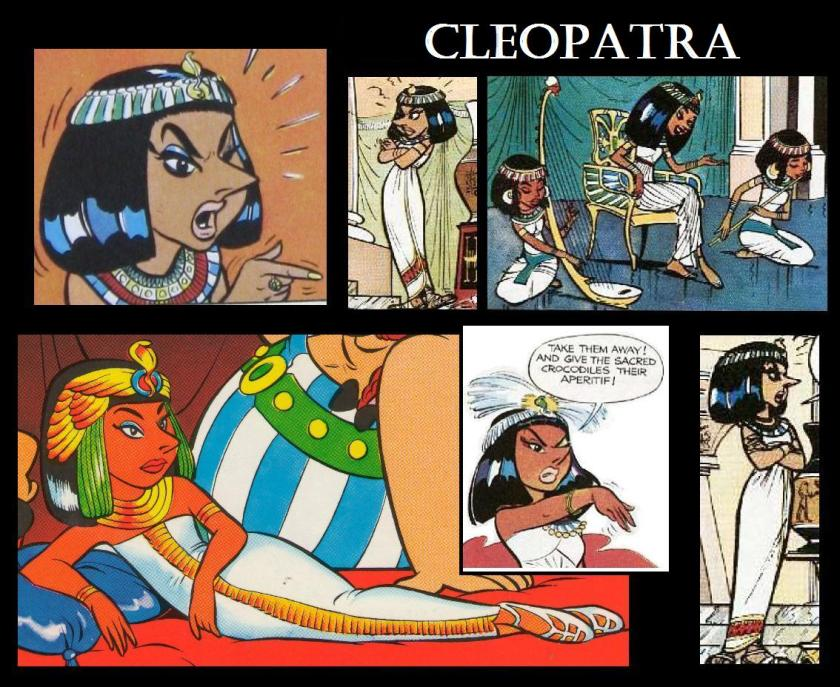 More Pictures of Cleopatra from Asterix