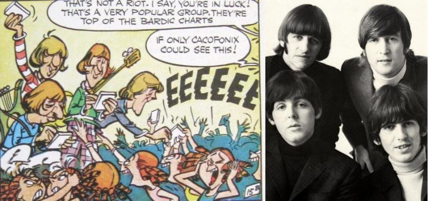 Parody of the Beatles