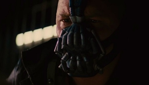 Batman: The Dark Knight Rises, Bane's face