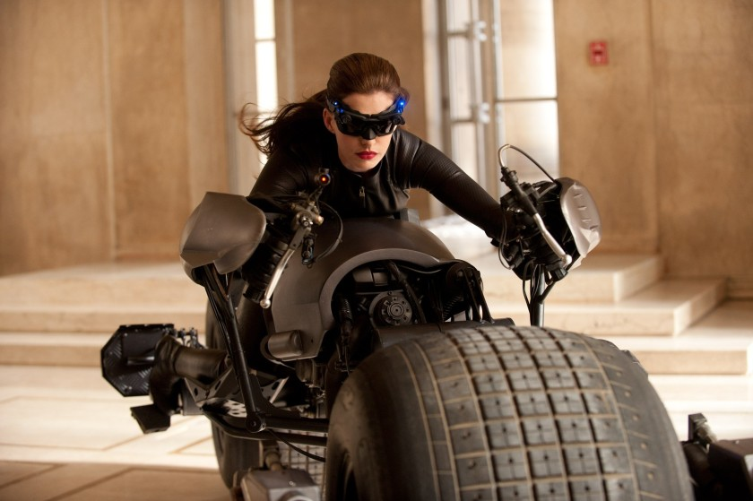 Anne Hathaway as Salina Kyle