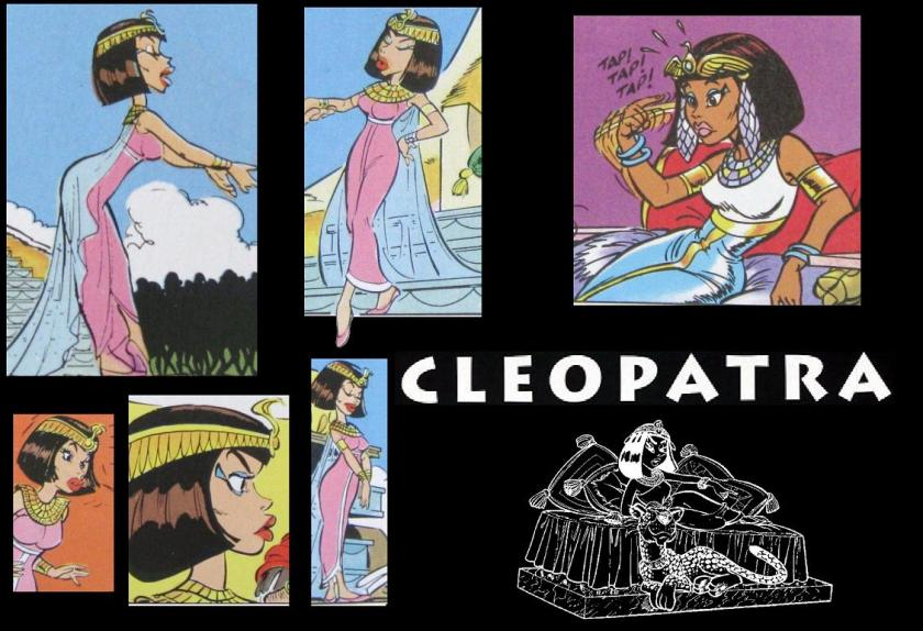 Pictures of Cleopatra from Asterix