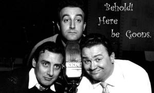 Spike Milligan, Peter Sellers, and Harry Secombe