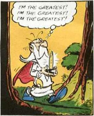 Getafix from Asterix and the Goths