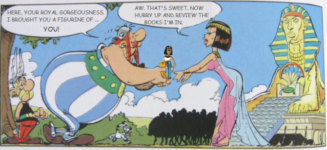 Reviews of Asterix Comic Books