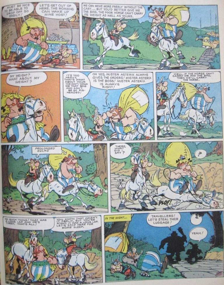 Dogmatix in Asterix comics