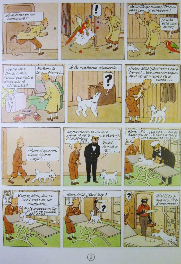 Tintin in the Congo (Spanish)