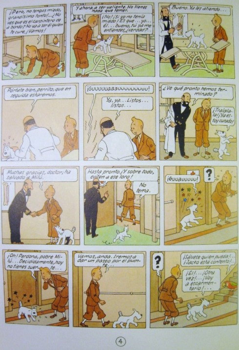 Tintin in the Congo (Spanish)