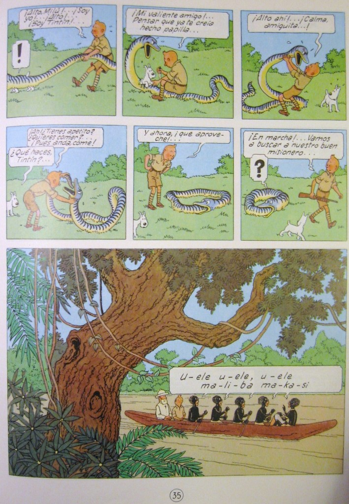 Tintin In Congo Color Pdf