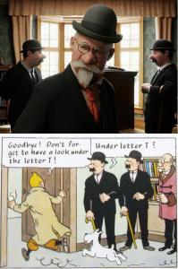 Tintin Movie and Comics