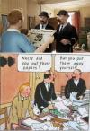 Tintin and Thomson and Thompson - Comparison between Movie and Comic