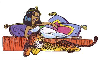 Asterix and Cleopatra Comic