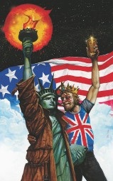 Bisley rarely disappoints. Lady Liberty looks very annoyed.