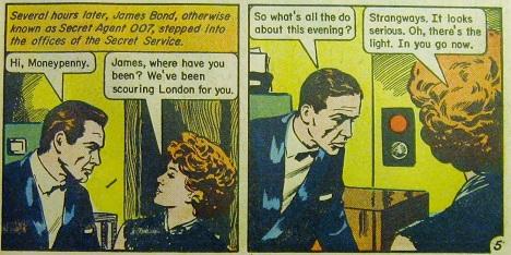 James Bond comics