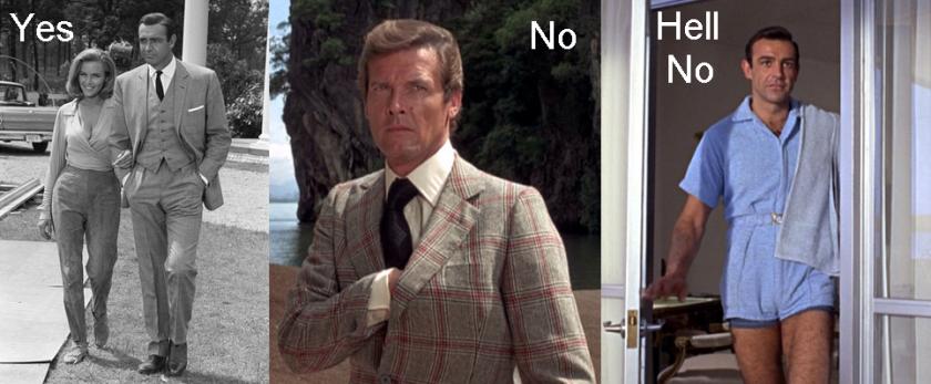 James Bond fashion