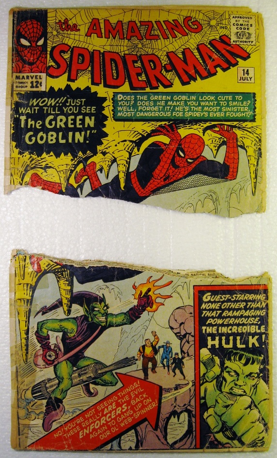 Ripped Comic Book