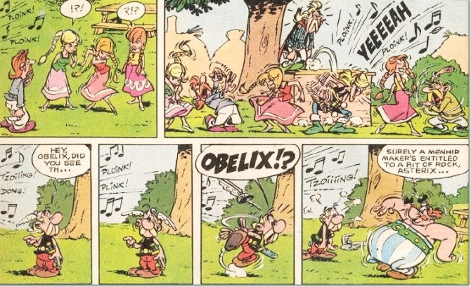 Asterix Comic Book