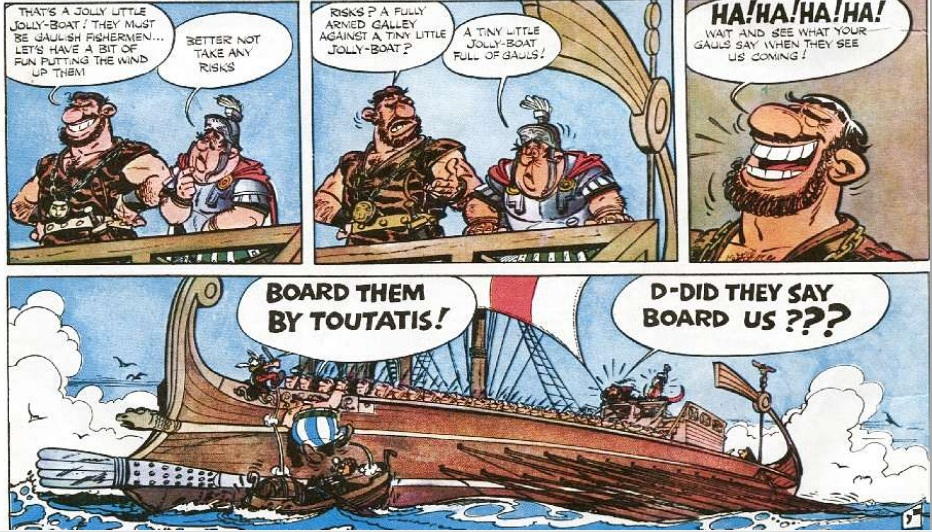 Asterix in Britain: Album #8 Asterix Orion Hardcover