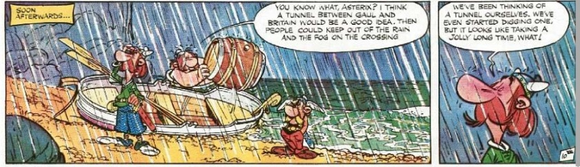Asterix comic books