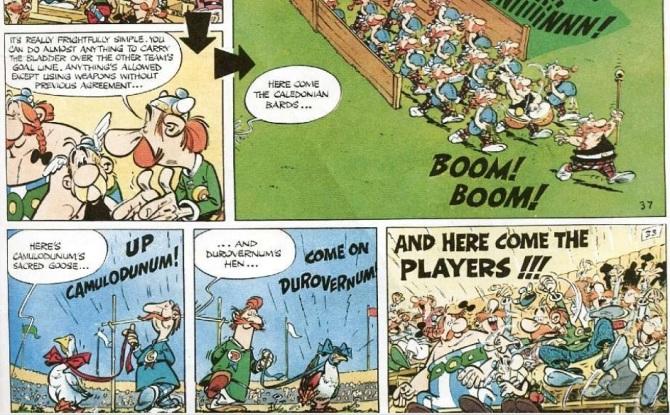 Asterix comic books