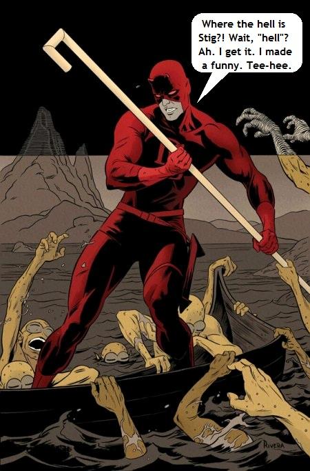 Daredevil from Marvel Comics