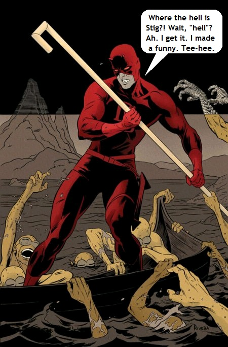 Daredevil from Marvel Comics