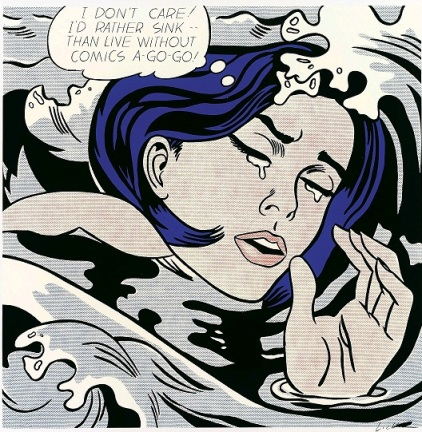 Lichtenstein pop art