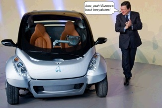 European concept automobiles
