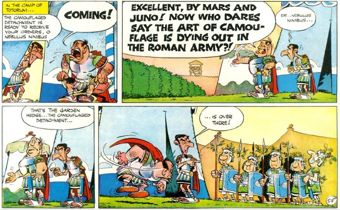 Asterix strip