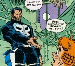 The Punisher from Archie Comics