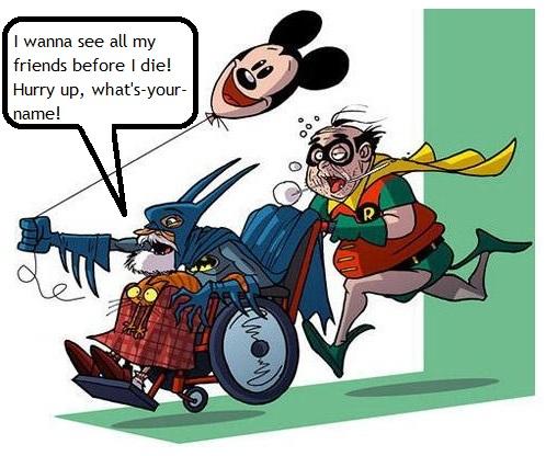 Comic character humor
