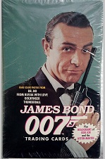 James Bond Trading Cards Box