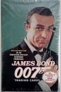 James Bond Trading Cards Box