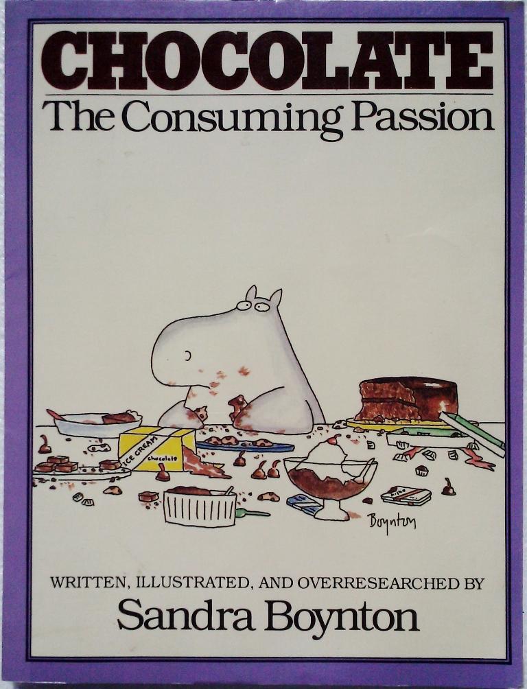 Sandra Boynton's book about chocolate