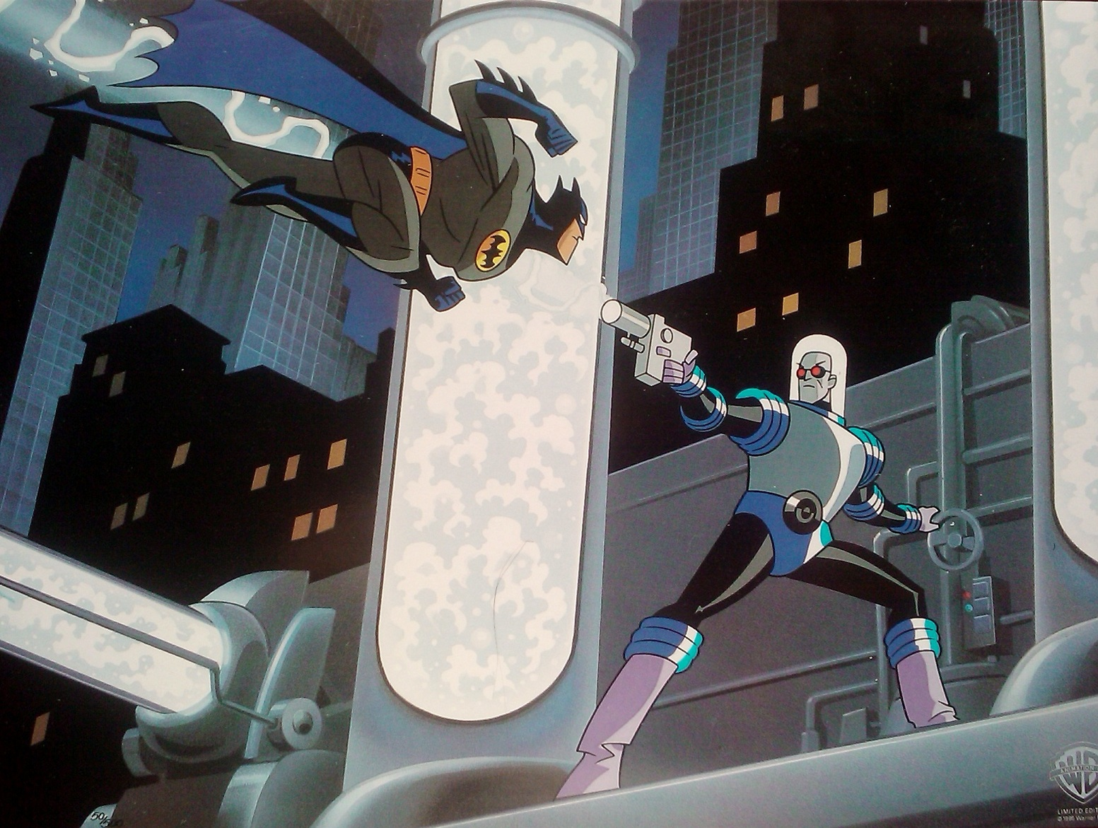 the batman vs freeze