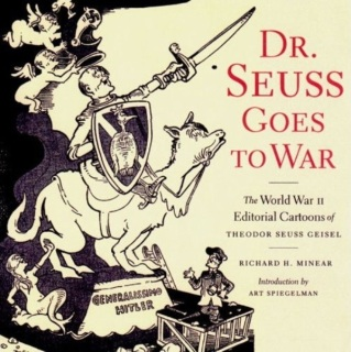 Cover to Dr. Seuss Goes to War hardback book