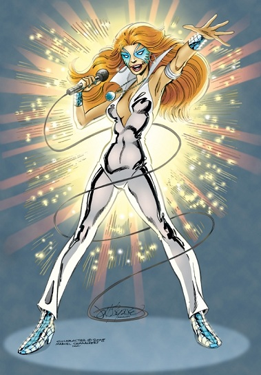 Dazzler, Marvel Comics