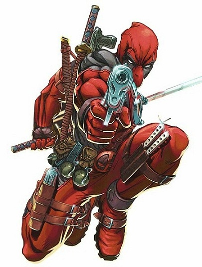 Deadpool comic book character