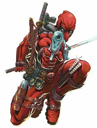 Deadpool comic book character